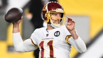 Alex Smith's bleeding leg against Steelers, draws comparisons to baseball's Curt Schilling