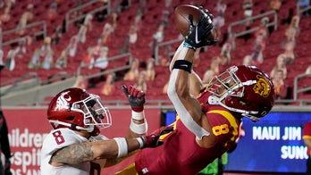 Slovis, St. Brown help No. 16 USC rout Washington State