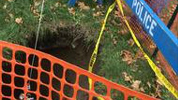 Boston sinkhole mystery solved