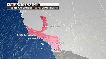Critical fire danger continues for Southern California