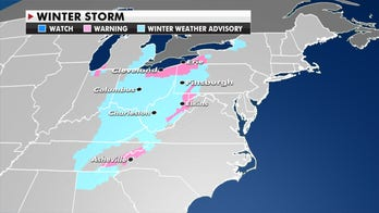 Snow for parts of the Great Lakes, Northeast and Ohio Valley