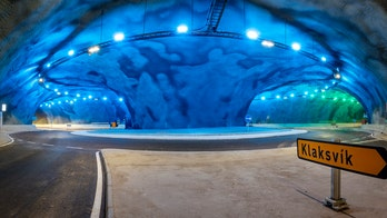 Incredible underwater roundabout set to open