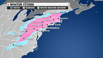 Major nor'easter set to bring up to 2 feet of snow in parts of East Coast