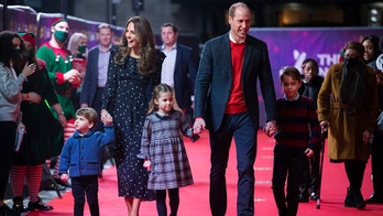 Royal kids George, Charlotte, Louis make red carpet debut with Prince William, Kate Middleton at show