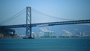 San Francisco-Oakland Bay Bridge clogged by protest caravan for Indian farmers