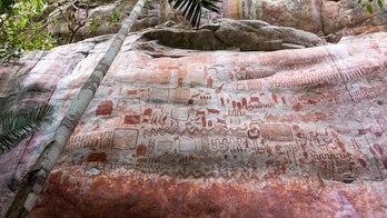 Amazon rock art discovery depicts prehistoric people and huge Ice Age beasts