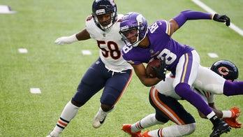 Vikings' Justin Jefferson responds to expletive hot mic moment against Bears: 'I ain't no diva'