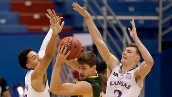 Grant-Foster saves No. 7 KU in 65-61 win over N Dakota State