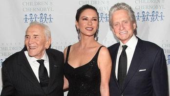 Michael Douglas, Catherine Zeta-Jones pay tribute to Kirk Douglas on his 104th birthday anniversary