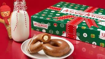 Krispy Kreme brings back gingerbread glazed doughnuts