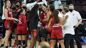 No. 8 North Carolina State women beat No. 1 South Carolina