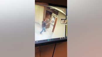Windows at North Dakota senator's office smashed by ax-wielding vandal