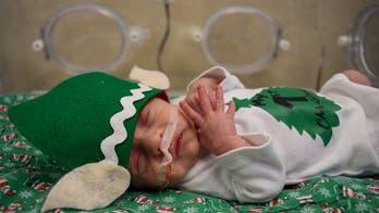 NICU 'elves' spread holiday cheer at Florida hospital
