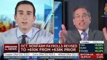 CNBC's Rick Santelli blasts anchor Andrew Ross Sorkin over lockdowns
