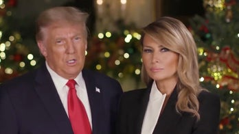 President Trump and first lady wish Americans a Merry Christmas