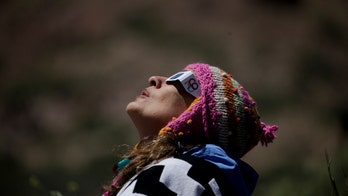 Total solar eclipse cuts a path across South America