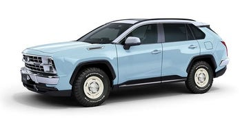 Toyota-based Chevrolet K5 Blazer copy is sold out