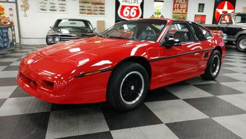 The last Pontiac Fiero ever built has been sold for $90,000