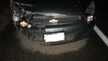 Washington cops catch driver using flashlights as headlights
