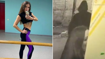 Chilling video captures Russian dancer killed by masked assassin