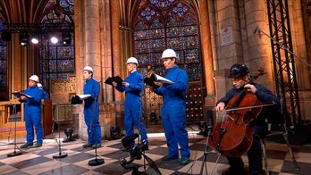 Christmas Eve concert held in Paris' fire-wrecked Notre Dame