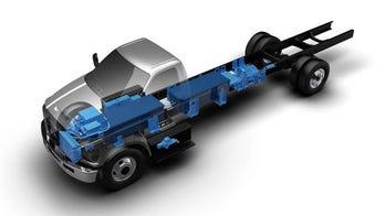 Roush, Penske unveil Electric Ford F-Series cargo truck
