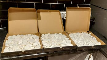 UK police seize more than $600G worth of drugs hidden in pizza boxes