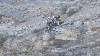 Utah hiker survives 100-foot fall onto cliff ledge, stranded for 5 hours before rescue