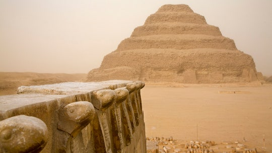 Photographer, model arrested by Egyptian police following photo shoot at ancient site