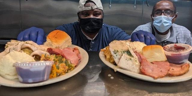 Chefs at Manuel's Tavern in Atlanta, Georgia (Credit: Manuel's Tavern)