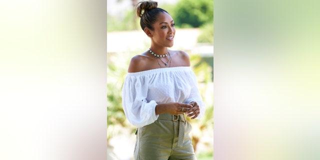 Tayshia Adams has three men left on the dating reality TV show.
