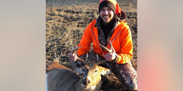 Father Jordan Neeck has been heckled and vandalized for hunting deer, to help feed the hungry, in recent weeks.