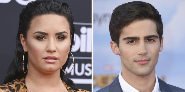 Demi Lovato and Max Ehrich broke up in September 2020. (AP Photo)