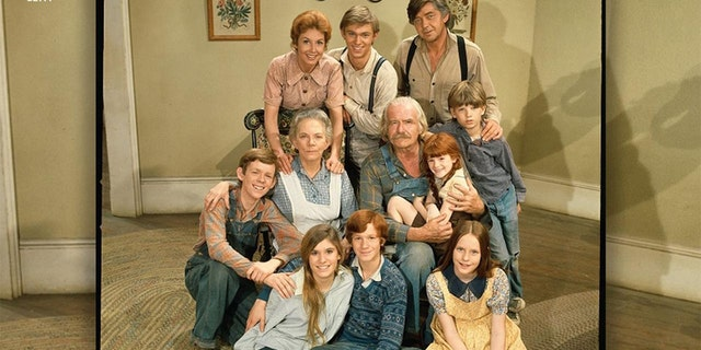 """""""The Waltons"""" aired from 1972 直到 1981."""