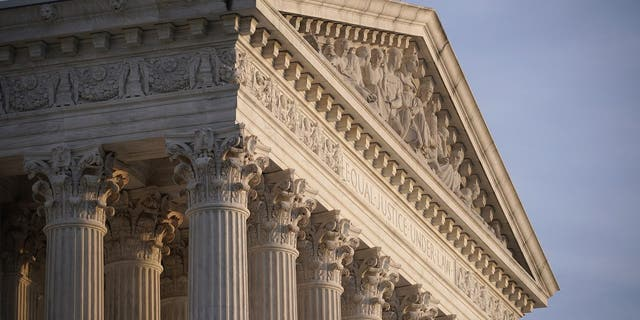 FILE - In this Nov. 5, 2020, file photo the Supreme Court is seen in Washington. (AP Photo/J. Scott Applewhite, File)