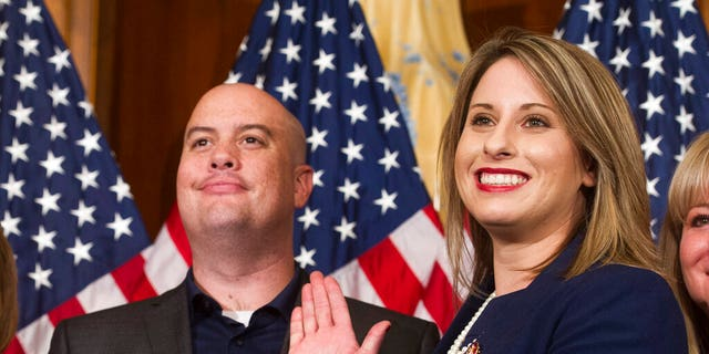 Former Rep. Katie Hill, D-Calif., Is considering another congressional candidacy.  (AP Photo / Owen Cliff, file)