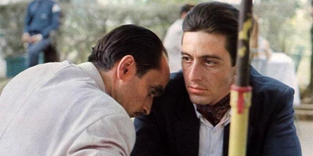 "Al Pacino in ""Il Padrino: Parte III,"" which was originally released in 1990."