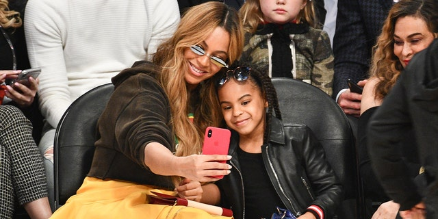 Beyonce's daughter Blue Ivy Carter is officially a Grammy nominee.