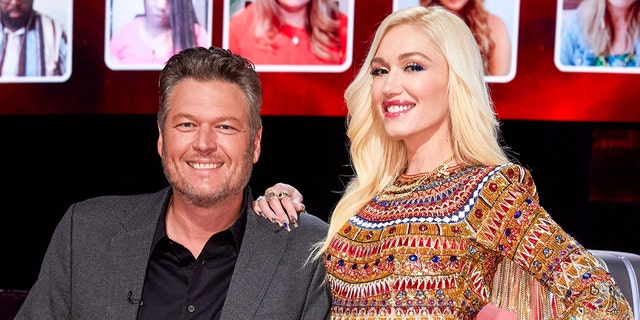 Blake Shelton (left) said that he hid Gwen Stefani's engagement ring in his truck for about a week. (Photo by: Trae Patton/NBC/NBCU Photo Bank via Getty Images)