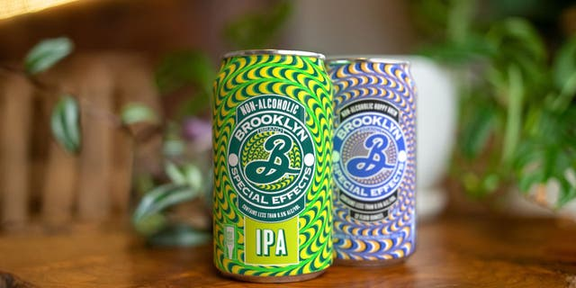 """Brooklyn's new non-alcoholic offering is Special Effects IPA, which it says """"tastes exactly like a regular beer"""" but without alcohol."""