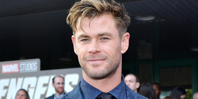 Chris Hemsworth and several other Marvel stars are involved in a fantasy football league to raise money for charity. (Photo by Amy Sussman/Getty Images)
