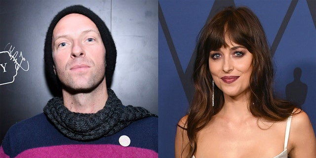 Coldplay's Chris Martin and Dakota Johnson have sparked engagement rumors after the actress was seen wearing a ring on her left ring finger.