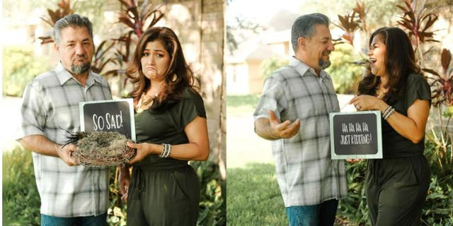 Dalila and Juan Perez officially became empty nesters when their youngest child got married and moved out in August. (Melyssa Anne Photography)