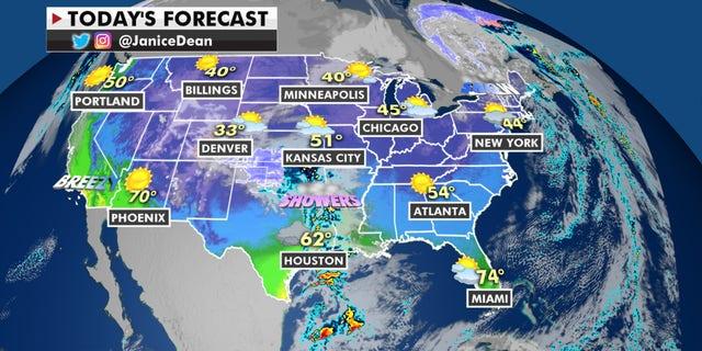 Forecast graphic.