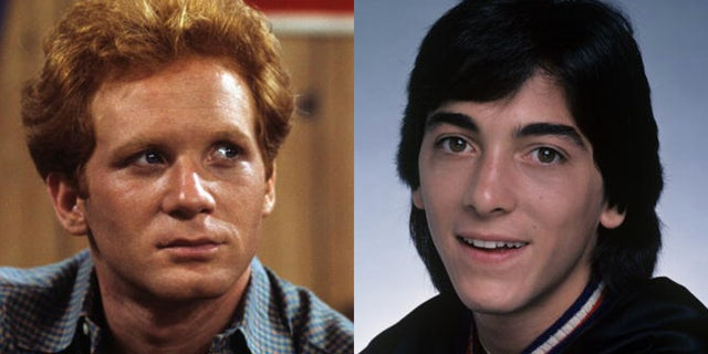 Don Most as Ralph Malph and Scott Baio as Chachi in 'Happy Days.' The beloved ABC sitcom followed the Cunningham family, and ran from 1974 aan 1984.