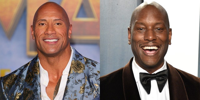 Dwayne 'The Rock' Johnson (left) and Tyrese Gibson (right) have been entangled in a feud for a handful of years, but Gibson said they recently laid it to rest.