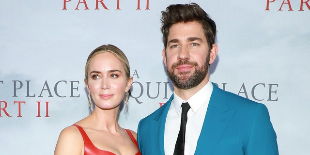 Emily Blunt and John Krasinski married in July 2010 and share two daughters.