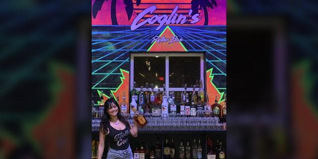 Coglin's Retro Bar in Wilmington, Carolina del Nord. (Zack Medford)