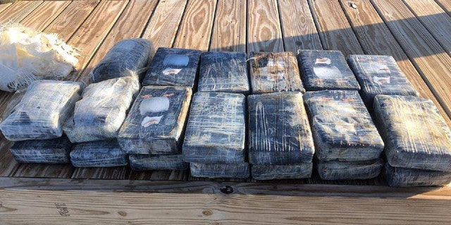 Florida authorities recovered more than 74 pounds of cocaine floating in waters off the Florida Keys.
