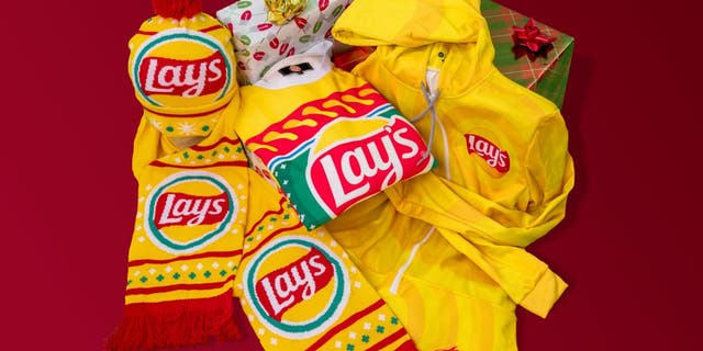 Frito-Lay also added a seasonal holiday shop to the site, selling gifts like sweaters, scarves and hats from its brands.